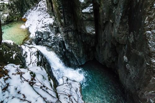 Tsukechi-Kyo Valley in Nakatsugawa City, Gifu prefecture, Japan.