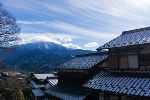 The Magome Post town in Nakatsugawa city, Japan.