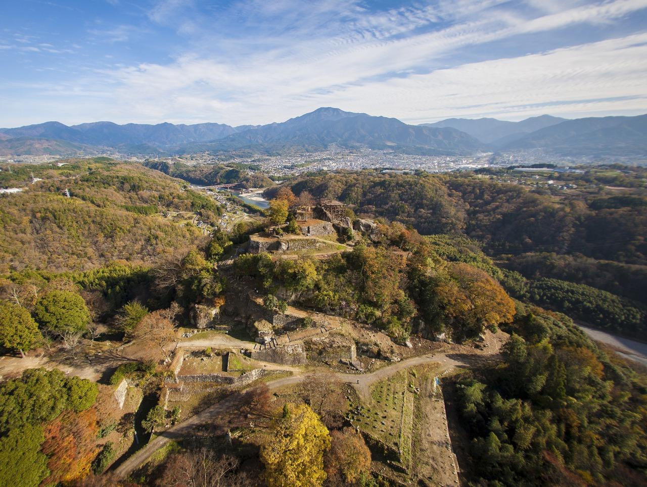 The Scenic Naegi Castle Ruins, the Machu Pichu of the East