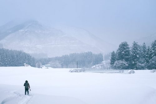 Rural Outdoor Snowshoe Experience in Takane Village