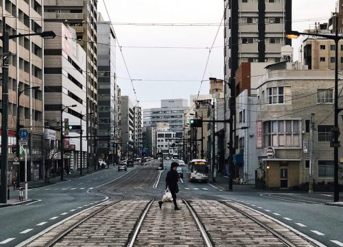 Kumamoto City, Kumamoto Prefecture, Kyushu, Japan.