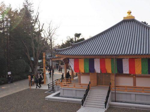 The historical Narita-san Temple near the Narita International Airport in Japan.