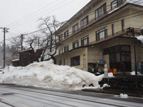 Snowfall in Yuzawa