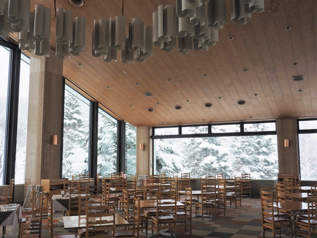 Staying at the Shiga Kogen Prince East Wing Hotel, at the Foot of the Ski Slopes