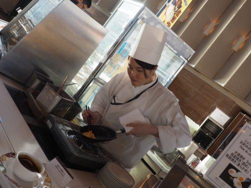 Das Omelette des Chefs