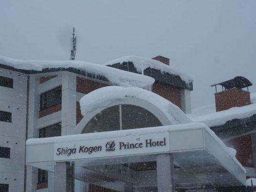 Auch durch einen Schneesturm erkennbar