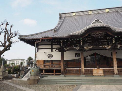 The Zuirin-ji Temple at Yanesen area  in Tokyo, Japan.
