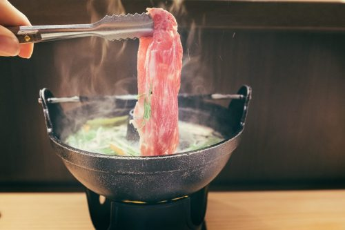 Yonezawa Onsen Ryokan Shabu Shabu Cuisine Dinner