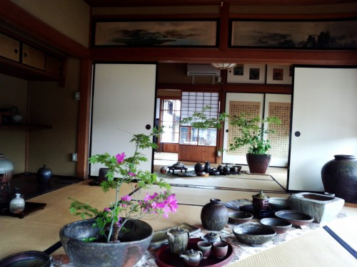 Historic Matsuhiro Nagano City Japan Samurai House War Tunnels Shrine Castle