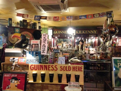 Sundance Irish craft beer pub bar Japan Morioka Iwate Prefecture