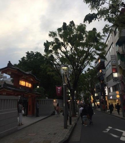Kagurazaka Neighborhood Guide Walking Tokyo Japan Zenkoku-ji Buddhist Temple