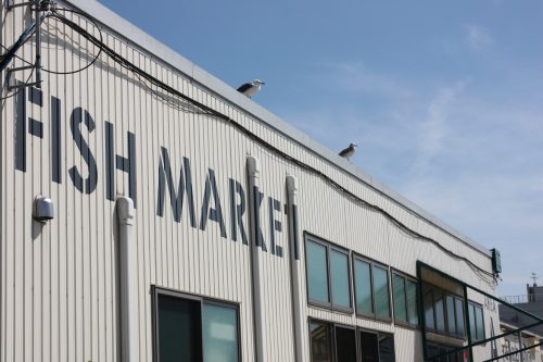Pier Bandai Fish Market Fresh Seafood Sushi Niigata City Local Cuisine