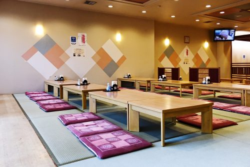 Riraku ryokan located in Toon city, Ehime Prefecture, offers us a nice stay.