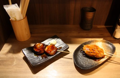 Yakitori is a famous Japanese cuisine.