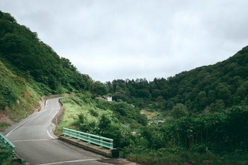 Hiking around hot springs at Yuzawa, Tohoku region