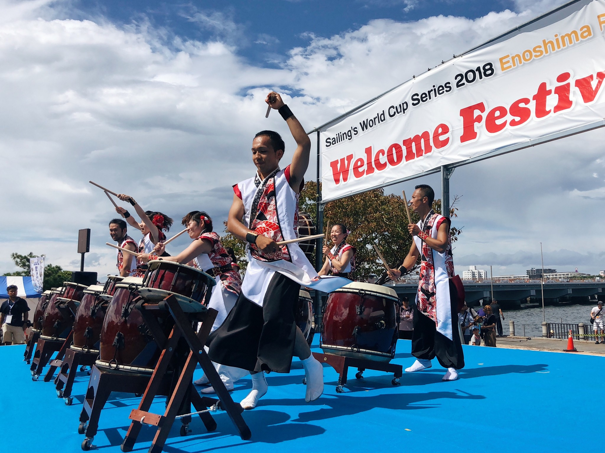 Attending the Sailing's World Cup Series 2018 – Enoshima Welcome Festival
