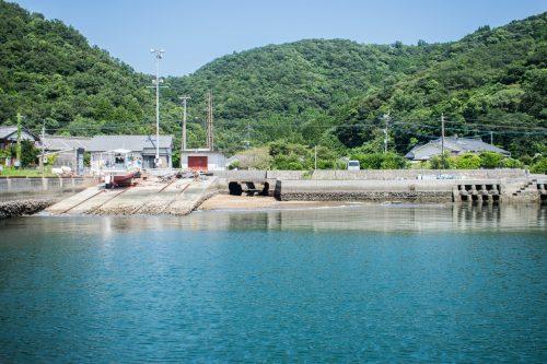 Arrival on Ohnyujima Island, Oita Prefecture, Japan