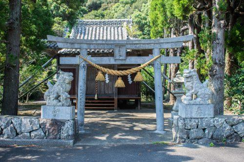 Sanctuary on Ohnyujima Island, Oita Prefecture, Japan