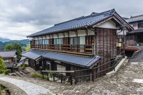 Traditional house along the Nakasendō, Gifu Prefecture, Japan