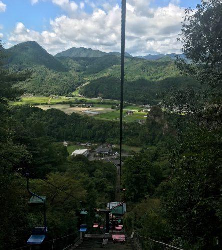 Yabakei Gorge Rakan-ji Temple Chairlift Nature Scenery Oita Nakatsu
