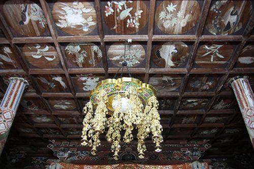 The oldest temple of Goto Islands: Myojoin Temple in Nagasaki, Kyushu, Japan.