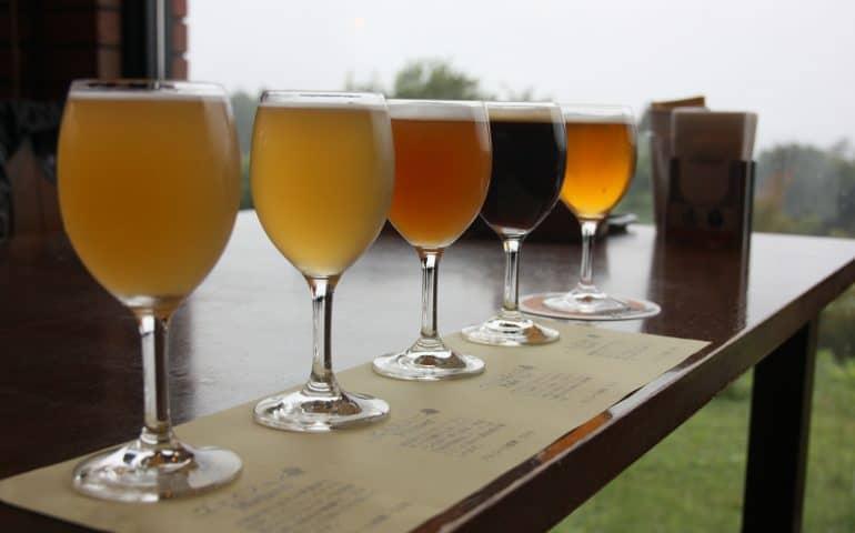 Bierhof Gambarius: local craft beers at the foot of Mt Daisen