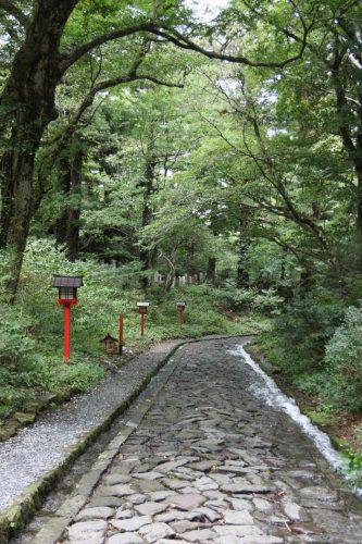 Ogamiyama Shrine at Mt Daisen, a Japan Heritage site in Tottori.