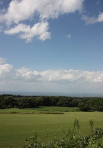 A Downhill Cycling from Mt Daisen to the Sea of Japan, Tottori, Japan.