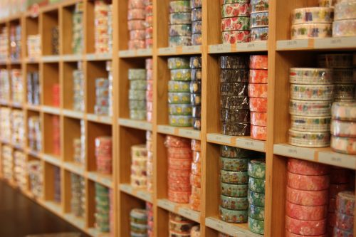 Nyochikudo in Kurashiki, Okayama is a washi tape lover's dream shop.