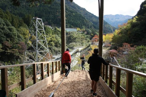 Experience the thrill of zip lining over the Iya Valley!