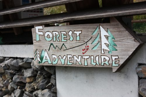 Forest Adventure, where you can experience the thrill of zip lining over the Iya Valley!