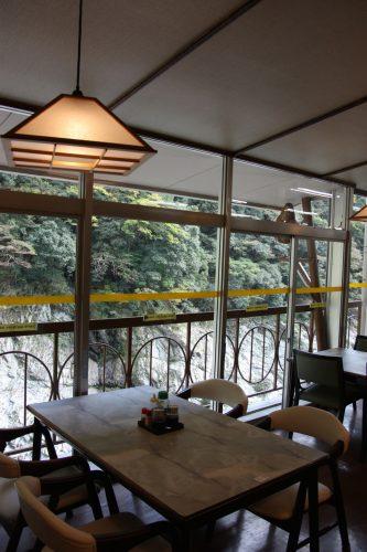 Beautiful views overlooking Oboke Gorge.
