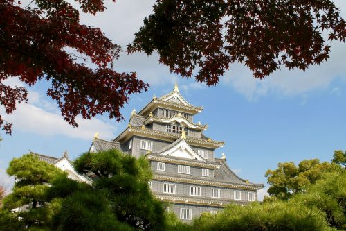Okayama City Castle Chugoku Region