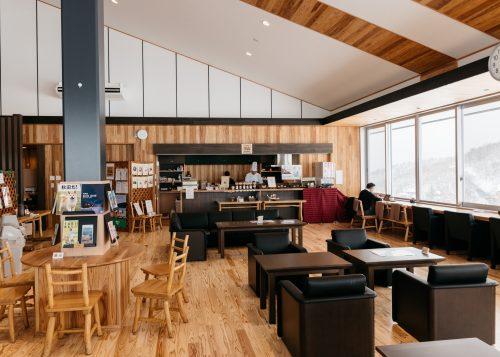Relax in the lounge at Tazawako Ski Resort in Semboku, Akita Prefecture.