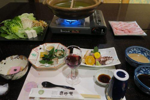 Kaiseki dinner at Ryokan Masagokan in Kakegawa, Shizuoka.