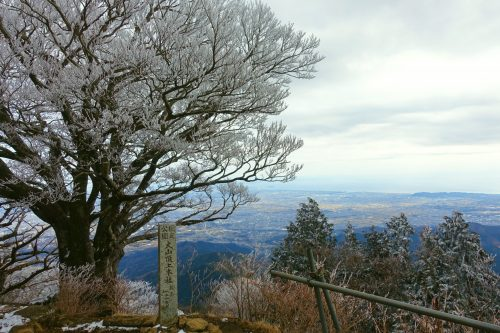 View from Mt. Oyama, close to Tokyo