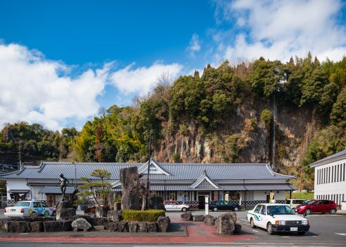 Bungo-Taketa station in Taketa city, Oita Prefecture, Kyushu