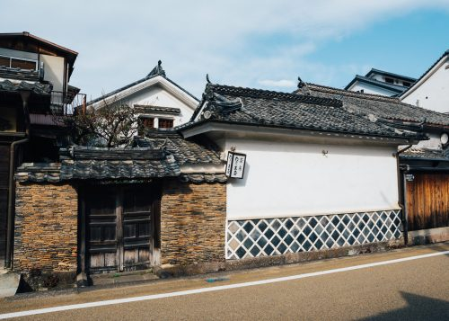 Old samurai residence at Taketa city, Oita Prefecture, Kyushu