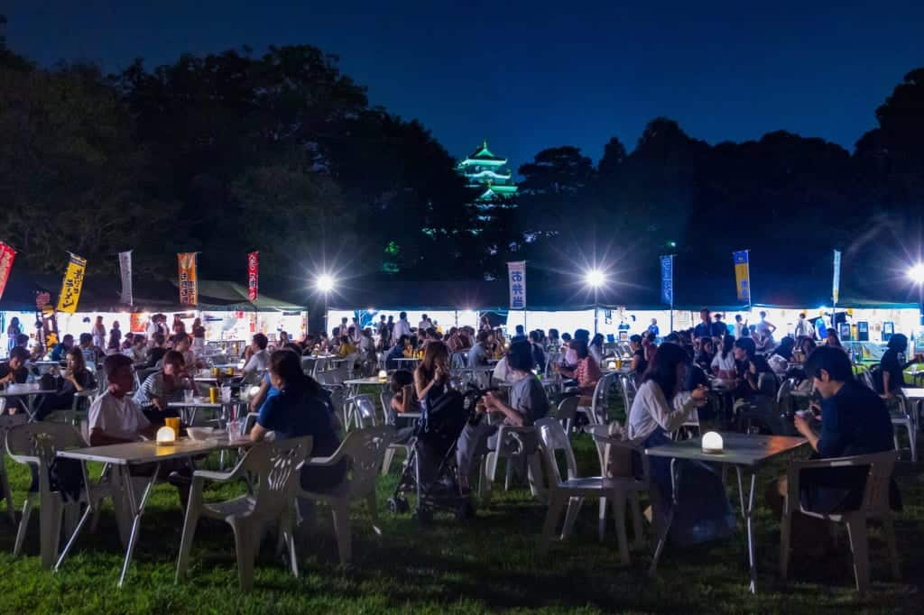 Okayama Korakuen Summer Beer Garden