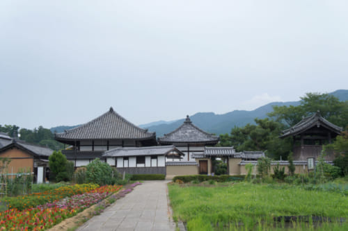 Asuka Temple, established during the Asuka period