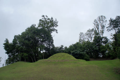 The Kitora kofun in Asuka, Nara