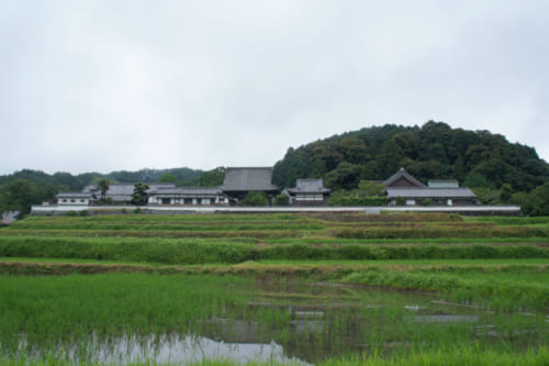 The Tachibana-dera temple, established during the Asuka period