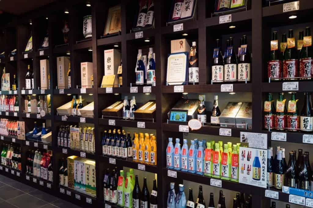 Miyashita Sake Brewery award winning sake