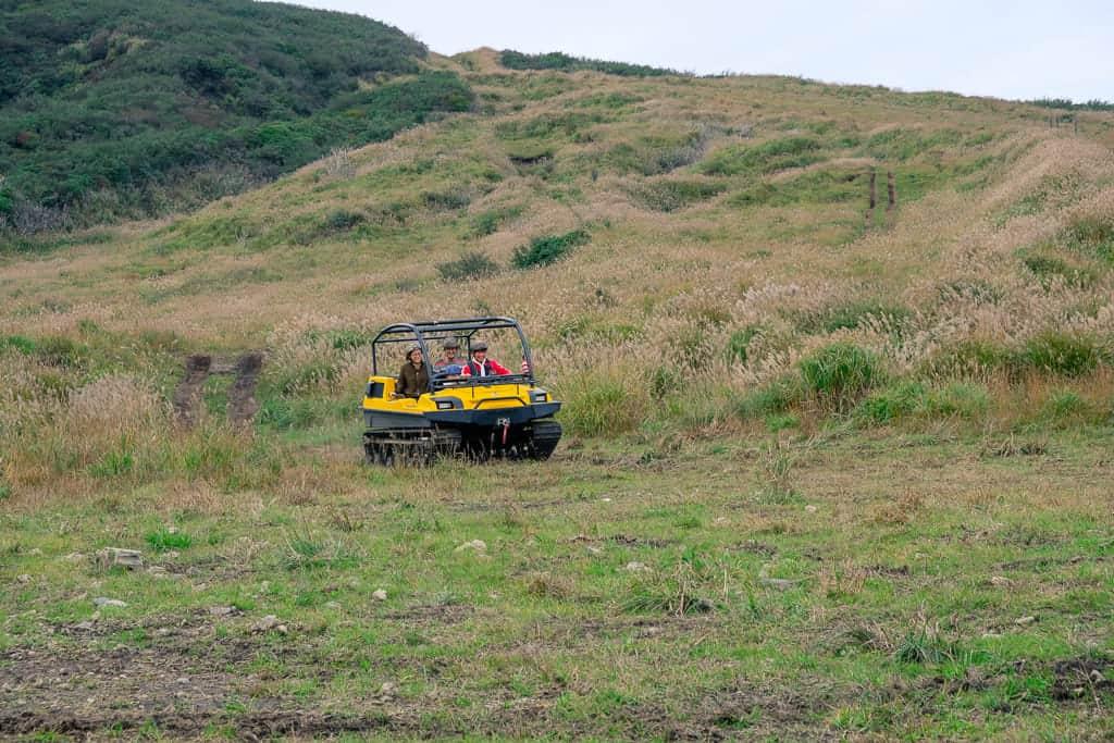 All-Terrain Vehicle on Adventure Track in Aso, Kumamoto