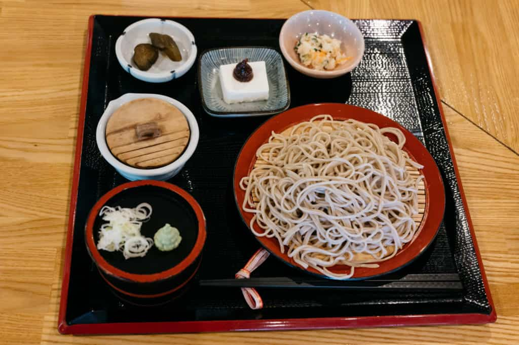 Waremokou Soba Shop in Kumamoto