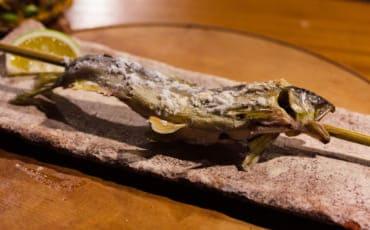 Dinner at Yamakawa Zenzo Ryokan, Kumamoto